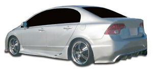 06 11 Honda Civic 4dr Duraflex I Spec Rear Bumper 1pc Body Kit 104932