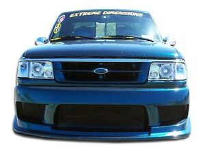 93 97 Ford Ranger Duraflex Drifter Front Bumper 1pc Body Kit 101239