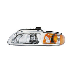 Fits 96 99 Chrysler Town country Caravan Driver Left Headlight Lamp Assembly Lh