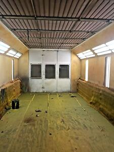 Aire Pro Side Downdraft Paint Spray Booth spray N Cure Heated