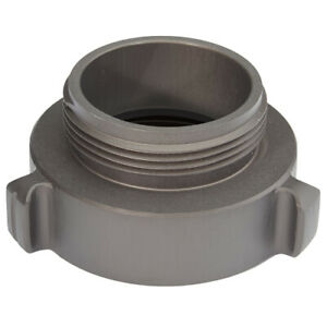 Aluminum 3 Female Npsh To 2 1 2 Male Nh Fire Hose Adapter