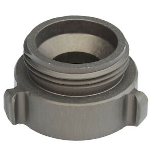 Aluminum 1 Female Nh To 1 1 2 Male Nh Fire Hose Adapter