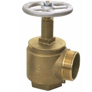 Cast Valve 1 1 2 Female Npt To 1 1 2 Male Nh