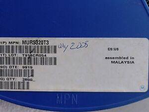 Qty 2005 Murs320t3 Smt Smd Ultrafast Power Rectifiers