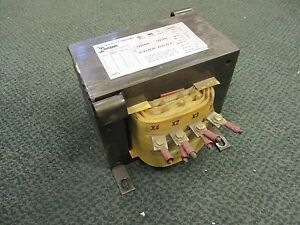 Hammond Dry Type Transformer 1s05bch 5kva 1ph Pri 240 480v Sec 120 240v Used