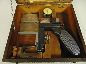 Starrett Internal Groove Gage Model 1175 W Case Tips Fp36