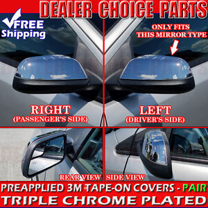 2011 2012 2013 2014 Ford Edge Chrome Mirror Covers Only Fits This Mirror Type