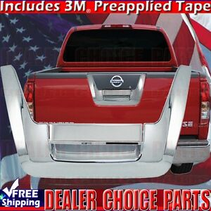 Fits 2005 2012 Nissan Frontier Tailgate Cover Handle Overlay Trim Triple Chrome