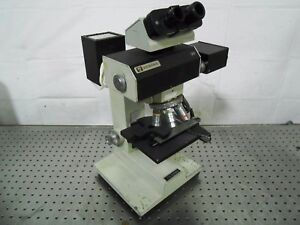 H142401 Vickers Microscope W 3 Microplan Objective 10 0 25 25 0 2 63 0 90