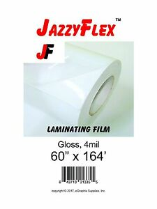 Jazzyflex Cold Laminating Film Gloss 60 X 164