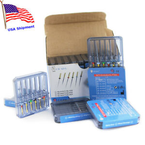 Usa 10 Pack Dental Rotary Niti Endodontic Protaper Momory Function Endo Files