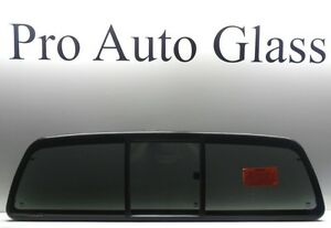 Sliding Slider Rear Window Back Glass Privacy Tinted For A 05 15 Toyota Tacoma