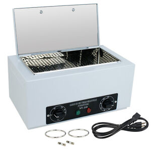 Dry Heat Sterilizer Cabinet Medical Dental Lab Vet Tattoo Autoclave Magnifier