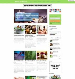 Aromatherapy Store Established Store Online Business Website For Sale Domain