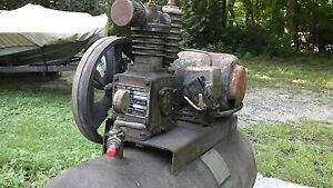 Gardner Denver Air Compressor Elc 220 Made In U s a Used details In The Pic