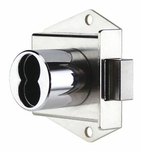 Ccl Interchangeable Core Cabinet Dead Bolt Brushed Chrome 72524