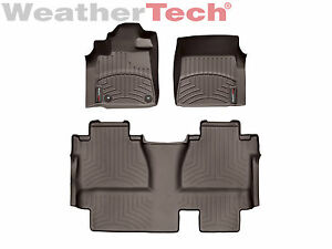Weathertech Floorliner For Toyota Tundra Double Cab 2014 2018 Cocoa