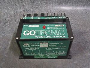 Gotronic Power Line Monitor 460 Vac 3 Phase Model 518100