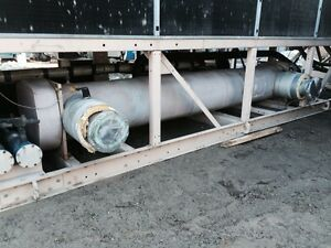 York Ycas 230 Ton Chiller Barrel Heat Exchanger Tube Bundle