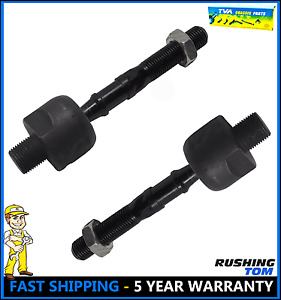 2 New Front Inner Tie Rod Ends Pair For A 04 08 Acura Tl Tsx 03 07 Honda Accord