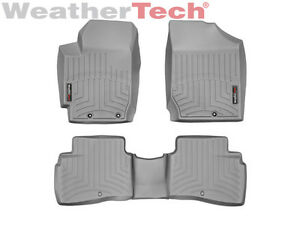 Weathertech Floorliner For Kia Forte Koup 2010 2013 Grey