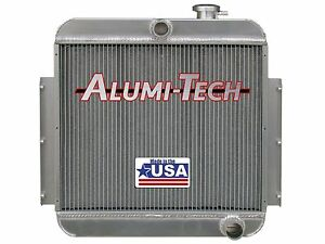 Cr3216 Alumi Tech 1955 1957 Chevy Bel Air Direct Fit Aluminum Radiator Usa Made