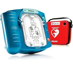 Philips Heartstart Onsite W Standard Carry Case room For Spare Pads battery