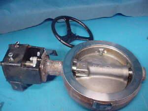 New Crane 8 150 Flowseal Butterfly Valve Cf8m Stainless Steel Body