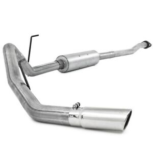 Mbrp Al Exhaust Single Side Exit For 2009 2010 Ford F150 4 6 5 4l Except 8 Bed