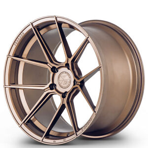 20 Ferrada F8 fr8 Bronze Forged Concave Wheels Rims Fits Porsche 997 911 Turbo