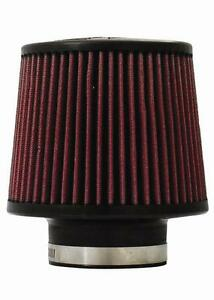 Injen x 1014 br High Performance Air Filter 3 00 Black Filter 6 Base 5 Tall