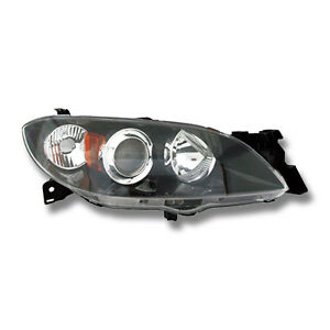 Fits 2004 2009 Mazda 3 Sedan Right Passenger Side Headlight Lamp Assembly Rh