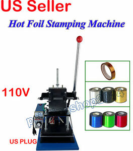 Hot Foil Stamping Machine 6 Rolls Foil Paper 1roll High Temp Resistant Tape