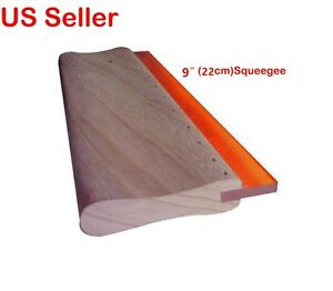 4 Pcs 9 Inch Silk Screen Printing Squeegee Ink Scraper Scratch Board Wholesale