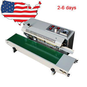 Automatic Horizontal Continuous Plastic Bag Band Sealer Set Sealing Machine