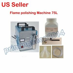 New 75loxy hydrogen Water Acrylic Flame Polishing Machine Welder Torch Polisher
