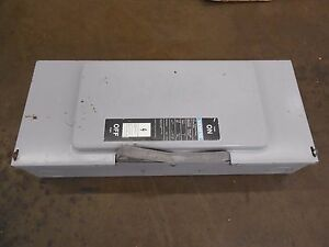 Siemens Jn424 200a Amp General Duty Non Fusible Safety Switch Disconnect 240v