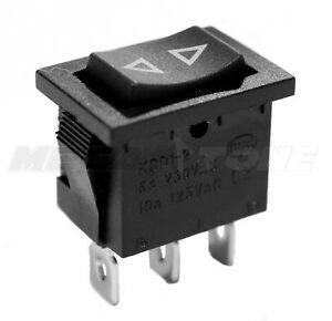 Spdt Kcd1 Mini Rocker Switch Momentary on off on 6a 250vac Usa Seller