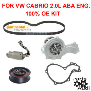 Oe Engine Timing Belt Kit For Vw Cabrio Golf Jetta 2 0l Aba Eng