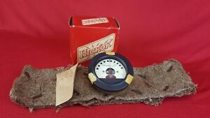 Vintage Nos Hickok 46 250r Frequency Shift 0 900 Panel Mount Meter