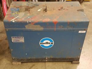 Miller Welder Dialarc High Frequency Welder Stick And Tig Welder