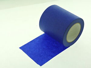 1x 6 Inch Wide 3d Printing Print Bed Easy Removal Blue Painters Masking Tape