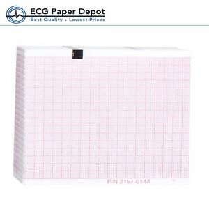 Schiller welch Allyn Ecg Recording Paper Ekg Printing Chart 2157 014a Red 10pack