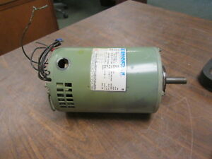 Marathon Electric 5vh56t17d2100e Ac Motor G120 1hp 1725rpm Fr 56 Used