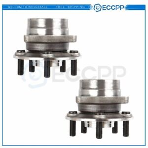 Pair New Front Wheel Hub Bearing Assembly For 2004 2009 For Toyota Prius 5 Lug