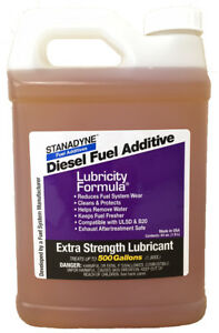 Stanadyne Lubricity Formula 1 2 Gallon 64oz Treats 500 Gallons 38561