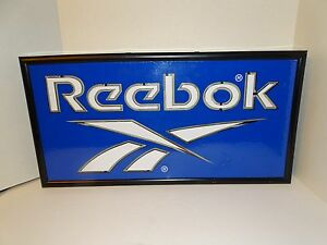 Electric Reebok Commercial Sign