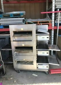 Lincoln Impinger Model 1132 Electric Triple Stack Conveyor Pizza Oven