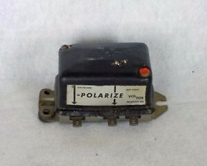 1950 1951 General Motors Voltage Regulator 6v New 364 Voltor Hot Rod Custom