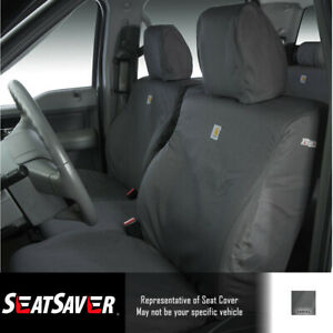 Seat Covers Sewn With Carhartt Fabric Ssc3358cagy Fits Dodge Ram 2004 2005